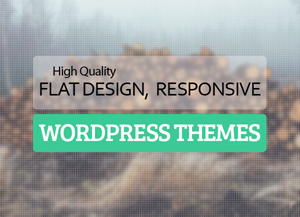 Best Flat Responsive Design WordPress Themes 2015