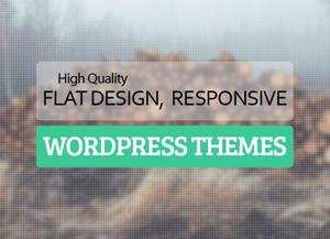 Best Flat Responsive Design WordPress Themes 2020