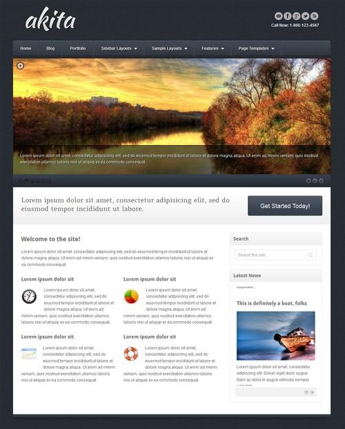 Akita-Responsive-WordPress-Theme