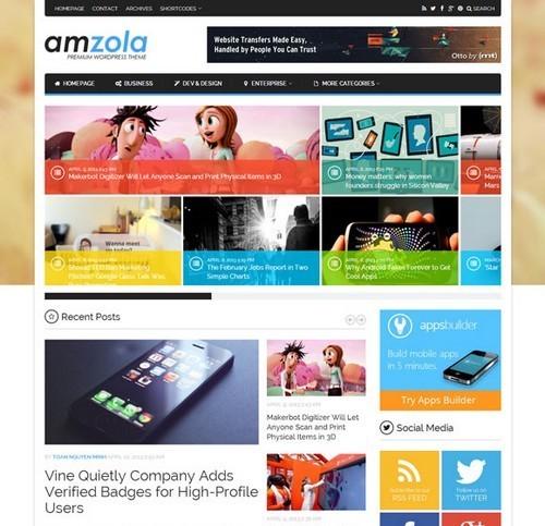 Amzola-WP-News-Theme
