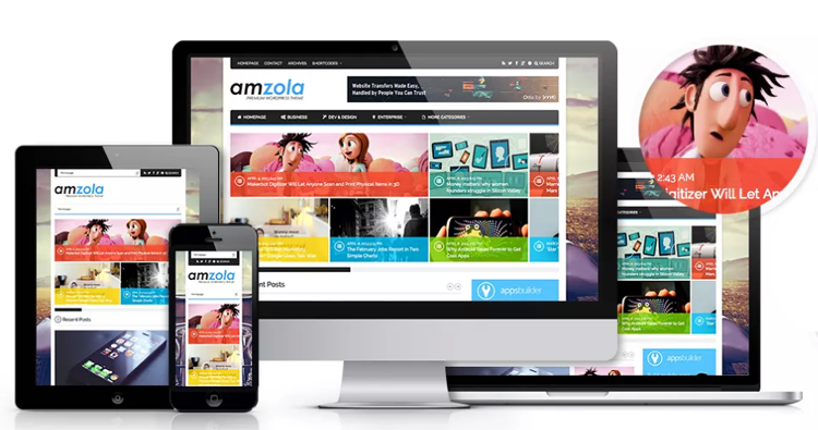 Amzola-WordPress-Theme