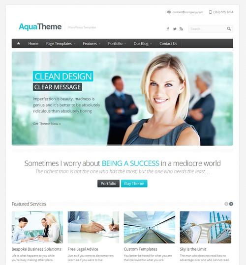 Aqua-Responsive-Multi-Purpose-Wordpress-Template