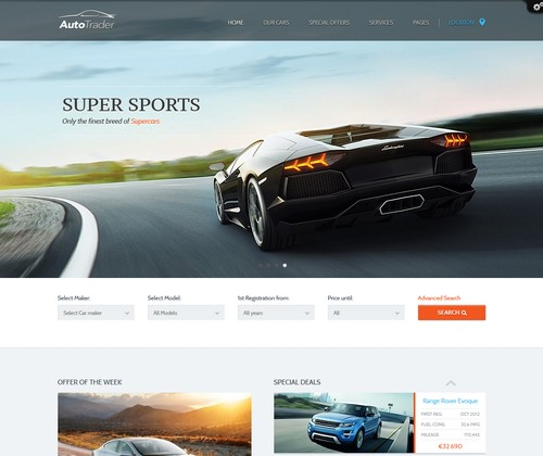 AutoTrader-WordPress-Theme