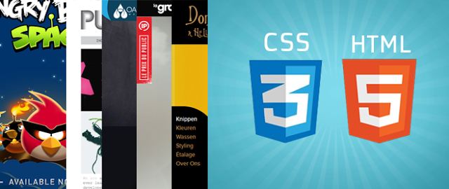 Awesome HTML5 and CSS3 Website Design Inspiration