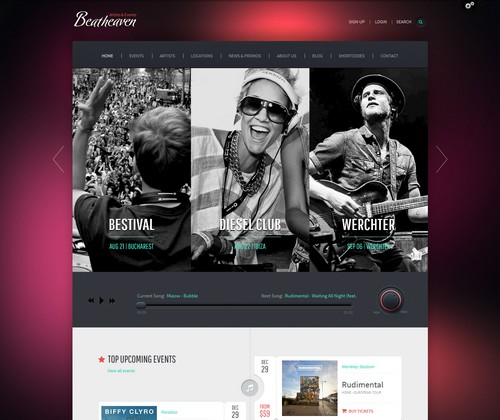 Beatheaven-Music-WordPress-Theme