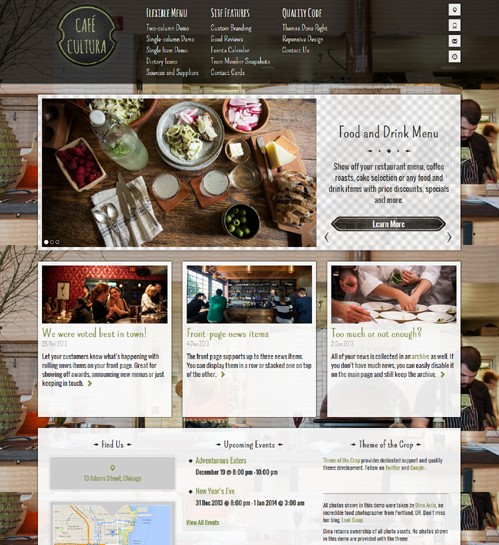 CafeCultura-WordPress-Theme