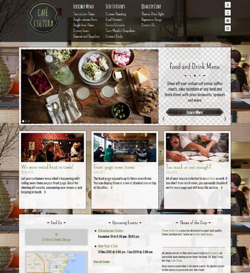 CafeCultura-WordPress-Theme