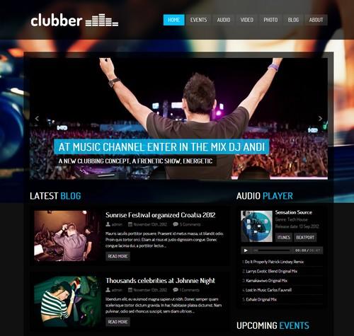 Clubber-WordPress-Premium-Theme
