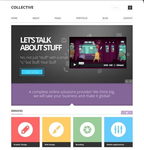 Collective-Professional-WordPress-Theme