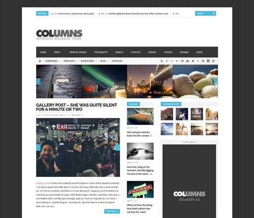 Columns-Impressive-WP-Theme