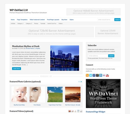 Da-Vinci-WordPress-Theme