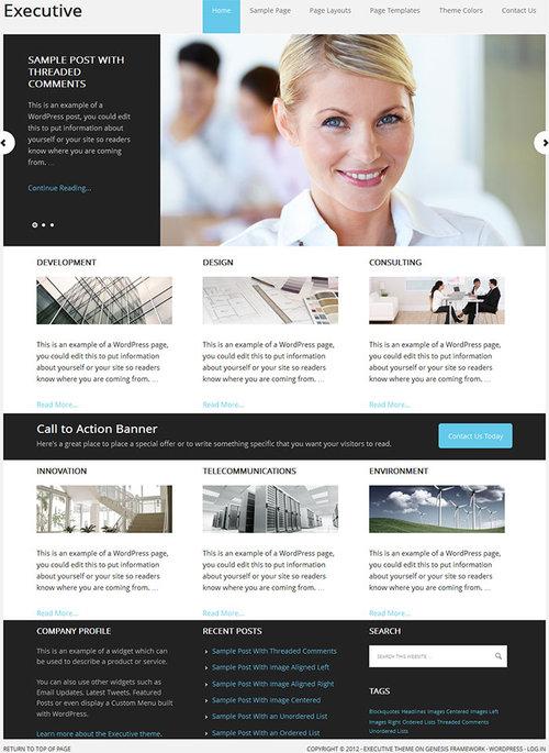 Executive-Theme-by-StudioPress