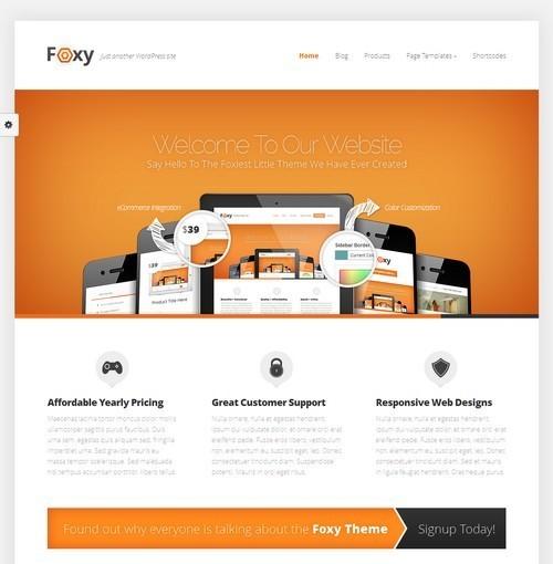 Foxy-Premium-WordPress-Theme