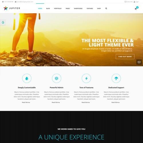 Jupiter-WordPress-Template