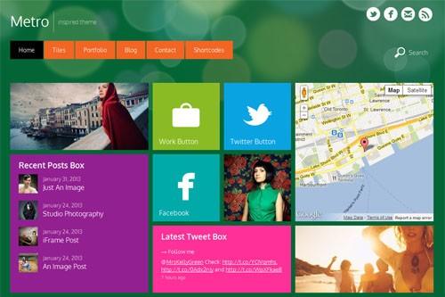 Metro-Style-WordPress-Themes