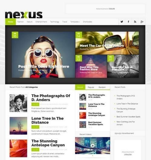 Nexus-Premium-WordPress-Theme
