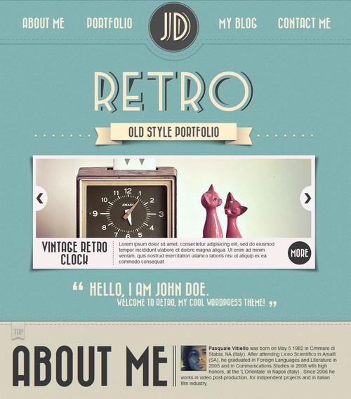 Retro-Portfolio-One-Page-Vintage-Wordpress-Theme