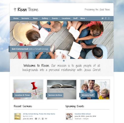 Risen-Church-WordPress-Theme