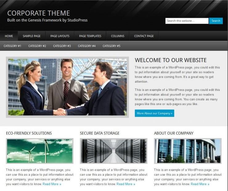 StudioPress-Corporate
