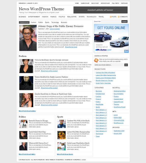 Studiopress-News-Theme