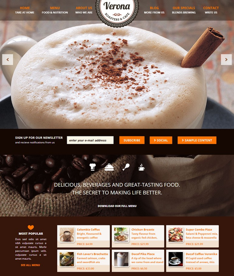 Verona Responsive-WordPress