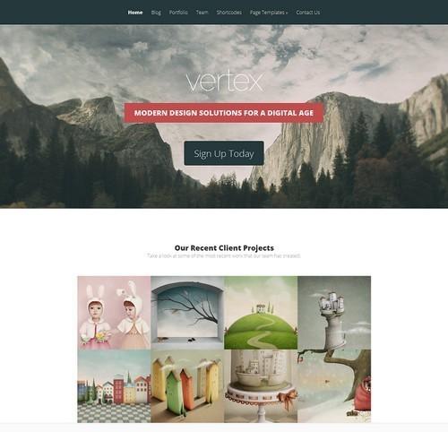 Vertex-WordPress-Theme