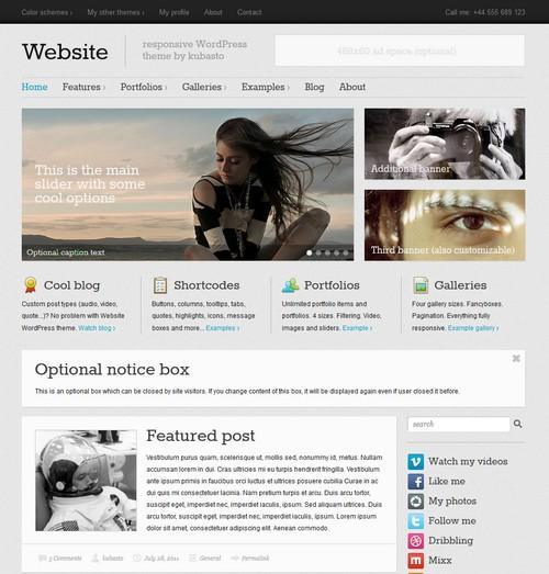 Website-responsive-WordPress-theme