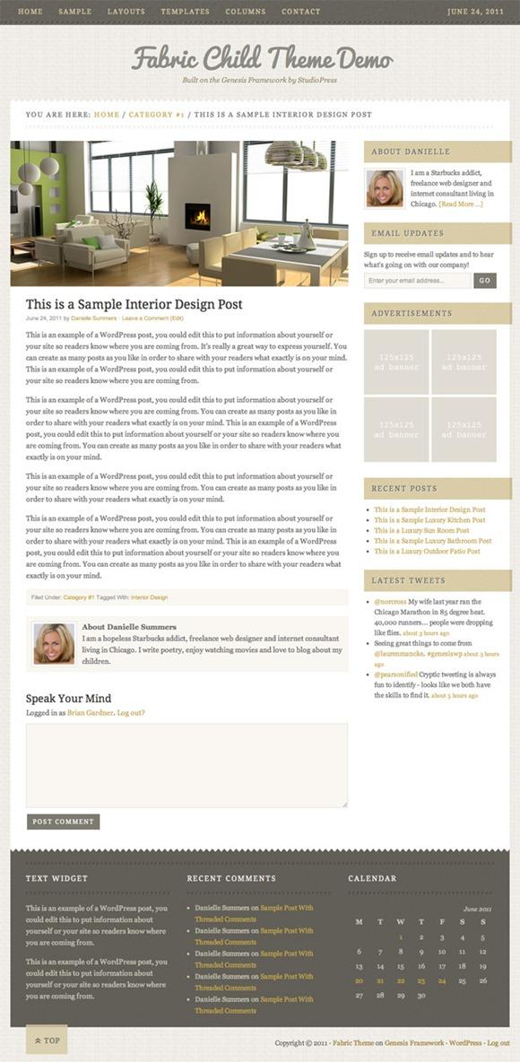 fabric-wordpress-theme