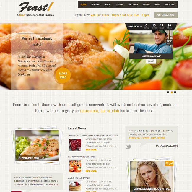 feast-wordpress-theme