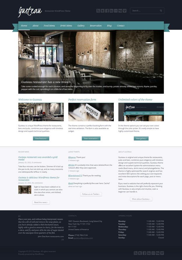 gusteau-restaurant-wordpress-theme