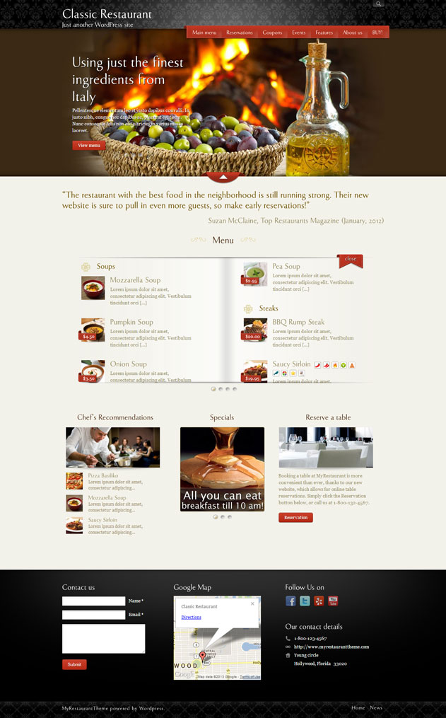 myrestauranttheme