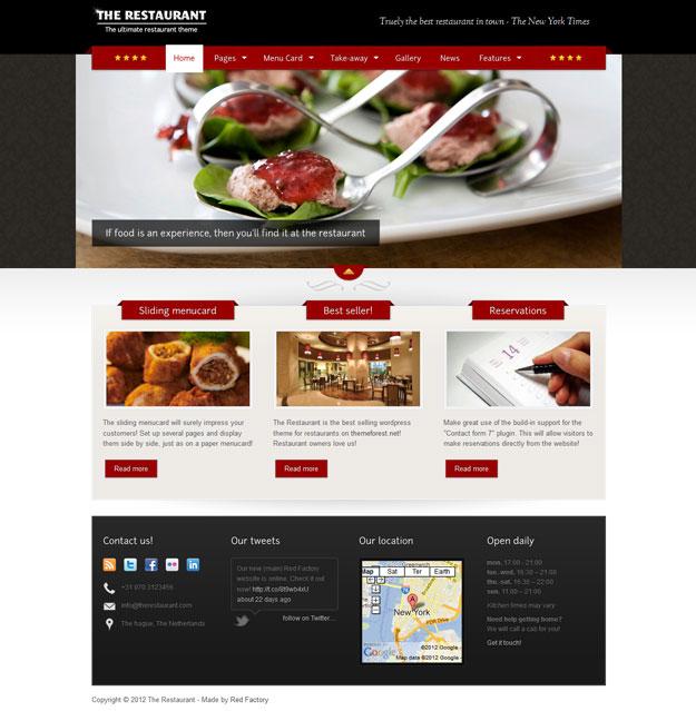 the-restaurant-wordpress-theme