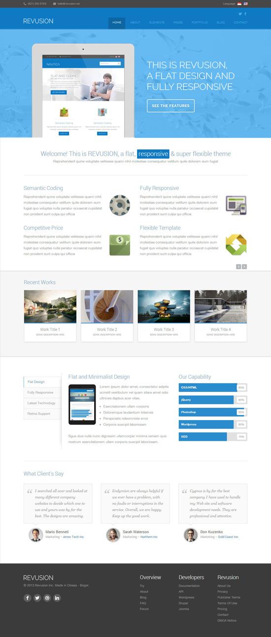wordpress-flat-design-themes