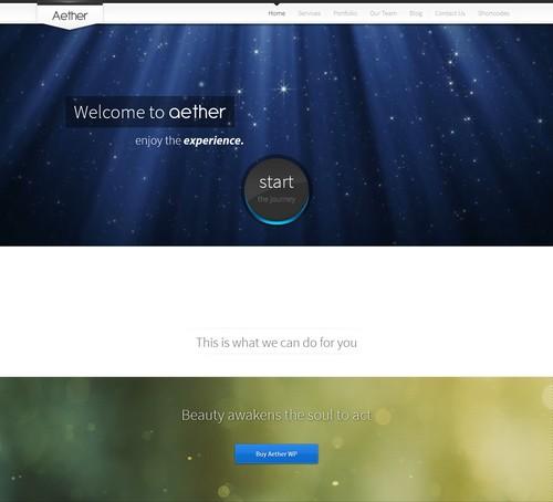 Aether-Wordpress-Theme