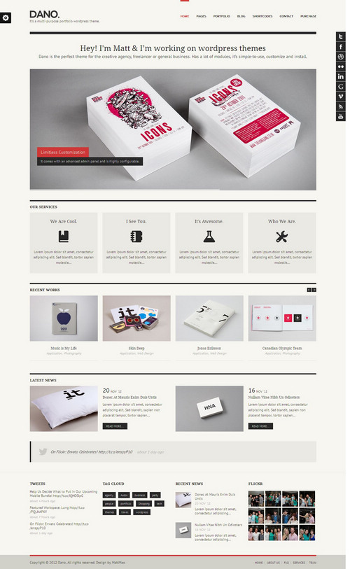 Dano-WordPress-Theme
