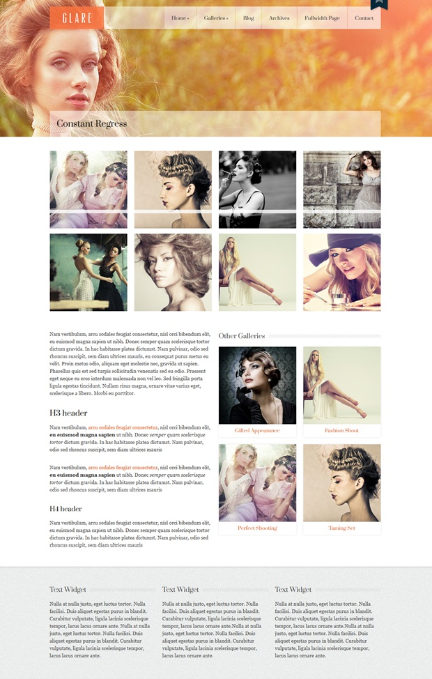 Glare-Photography-WordPress-Theme