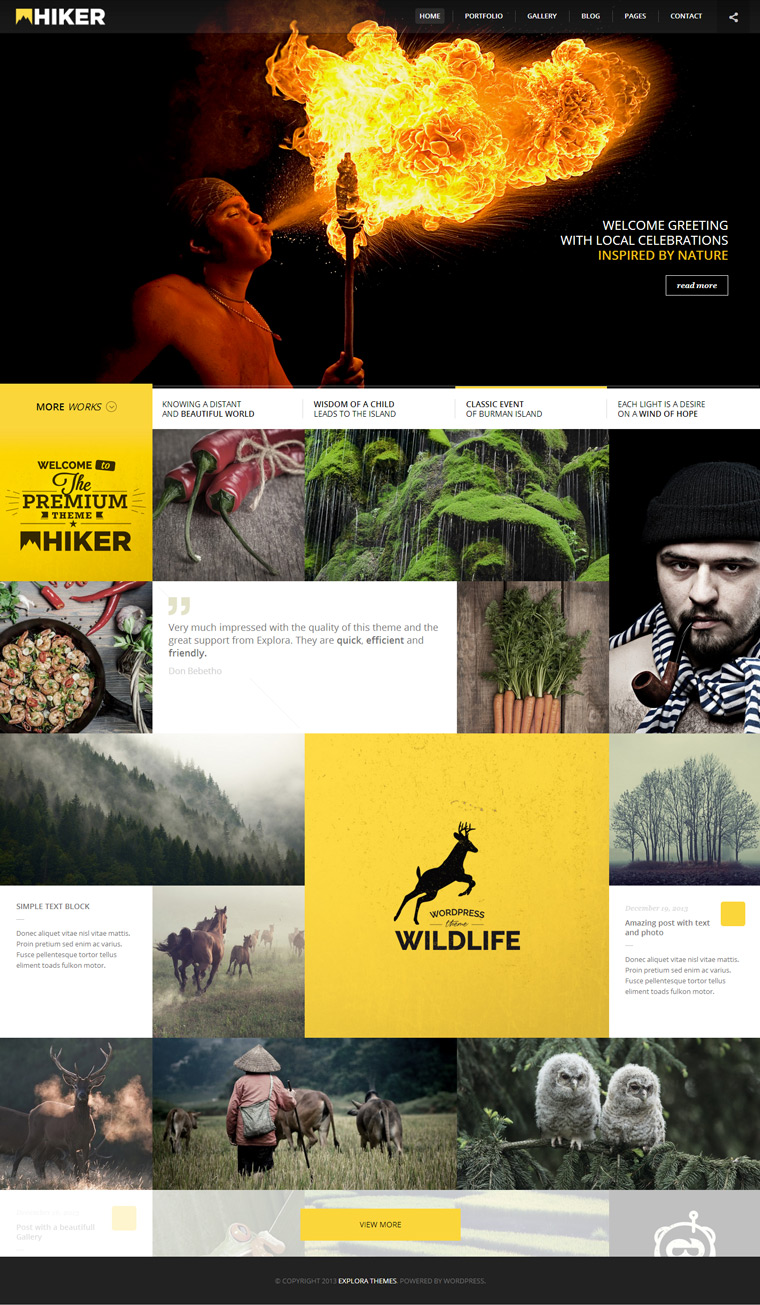 Hiker-photography-wordpress-theme
