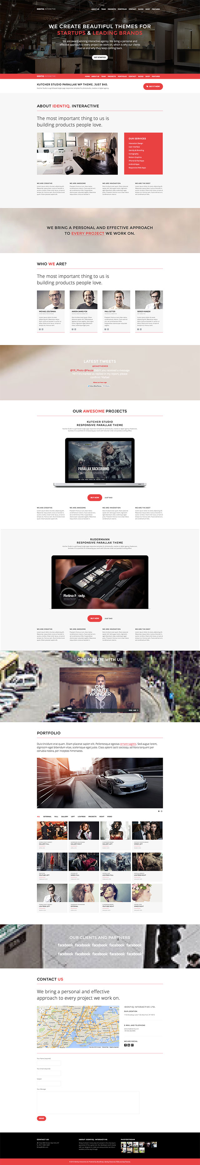 Identiq-One-Page-WP-Theme