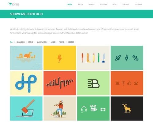 Kyte-Flat-One-Page-WordPress-Theme