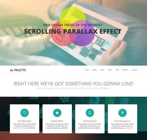 Palette-WordPress-Theme