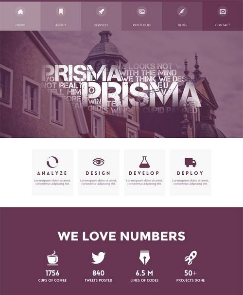 Prisma-One-Page-WordPress-Theme