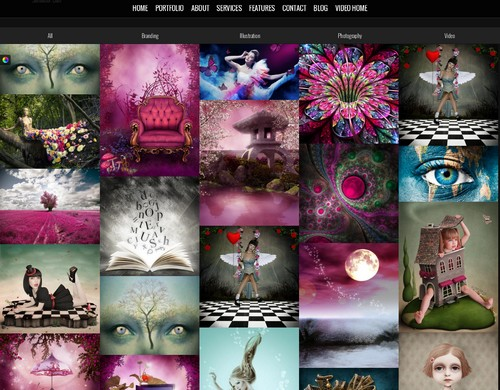 Surreal-One-Page-Parallax-Theme