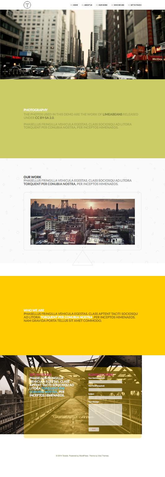 Telesis-Parallax-Effect-Business-Theme
