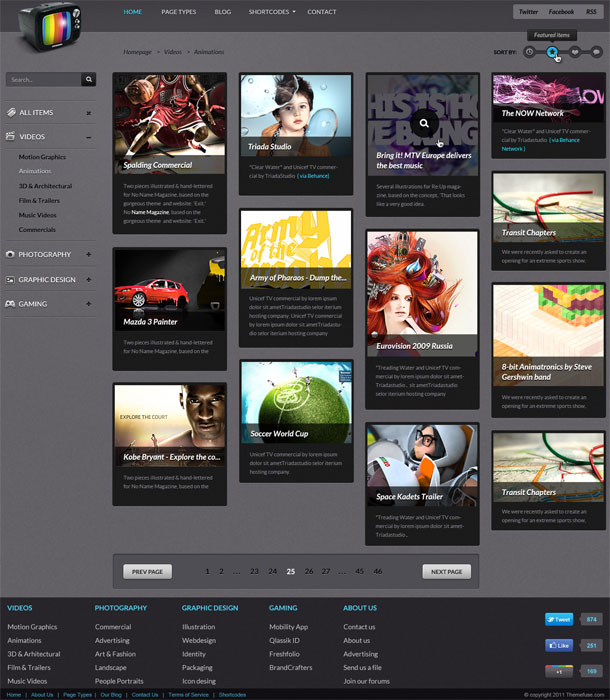 VideoGrid-Wordpress-Theme