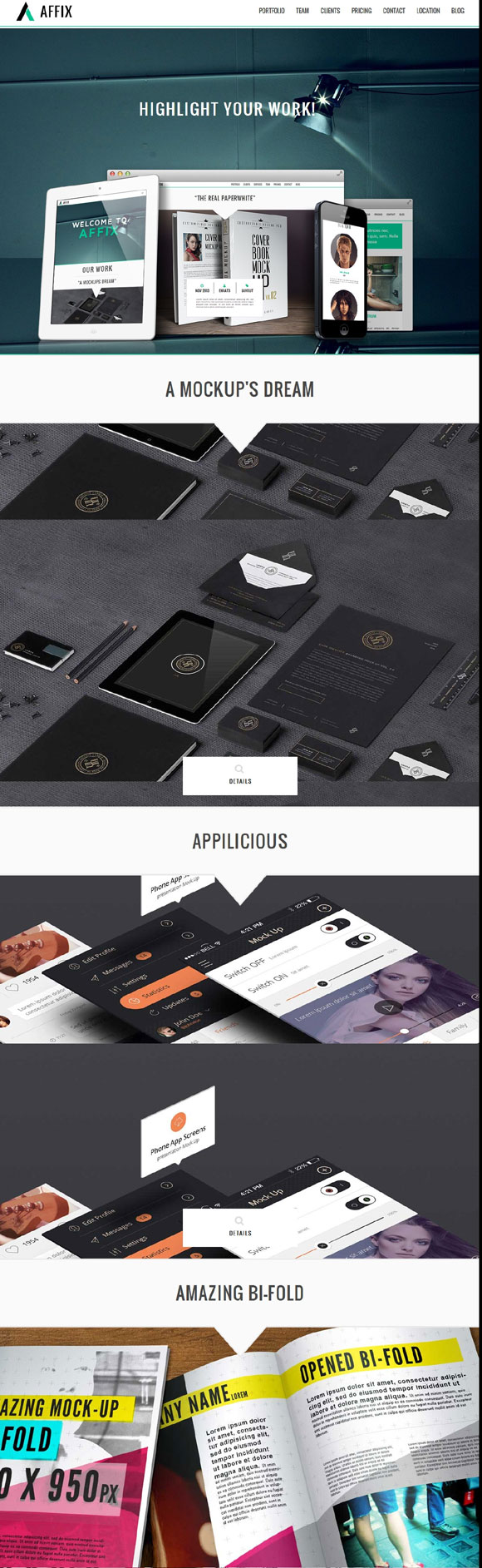 affix-creative-onepage-parallax-theme