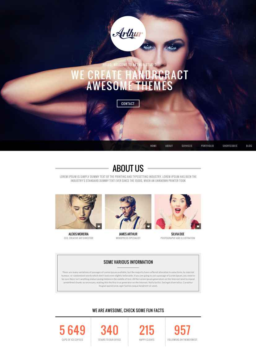 arthur-responsive-one-page-and-parallax