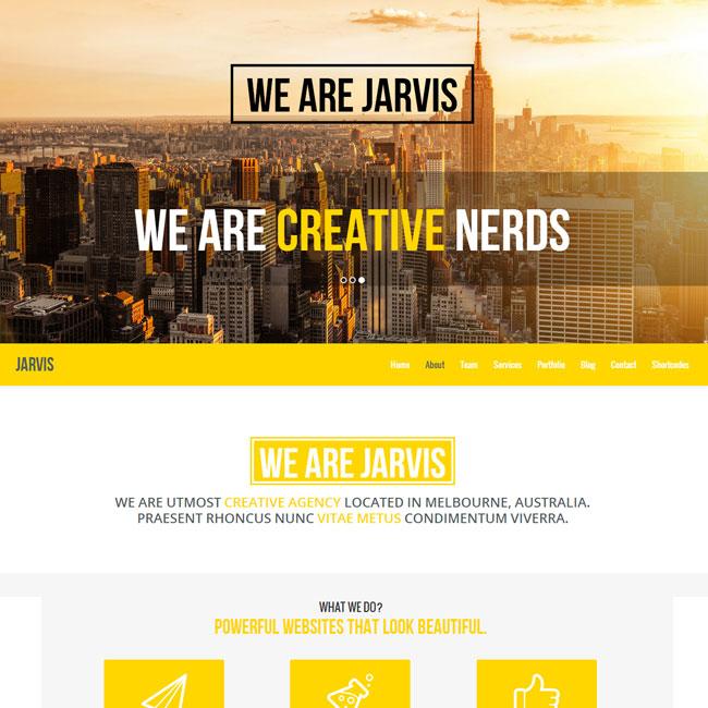 jarvis-wordpress-theme