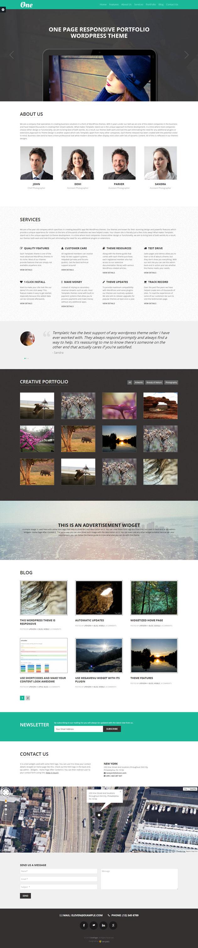 one-page-responsive-portfolio-theme