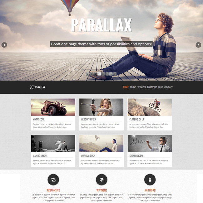 parallax-wordpress-theme