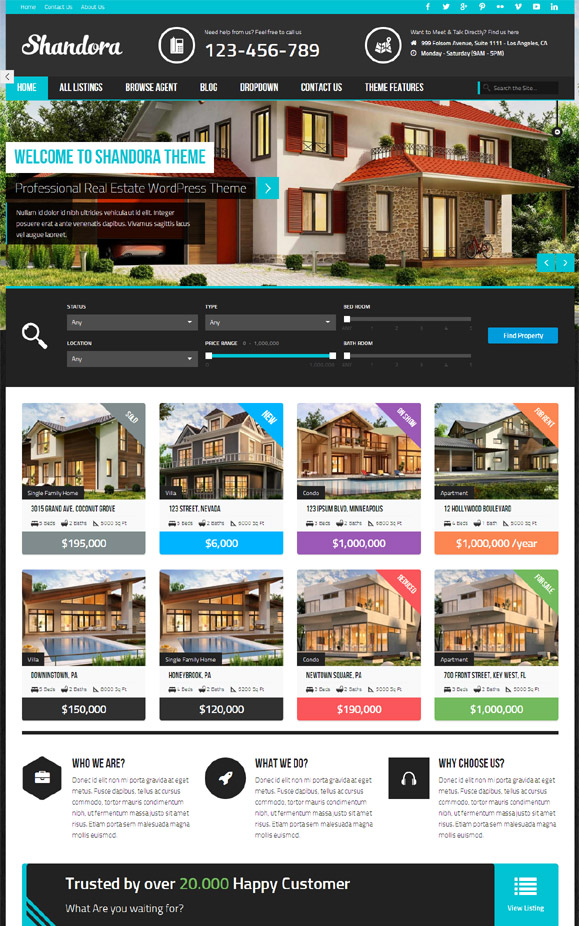 shandora-real-estate-wordpress-theme